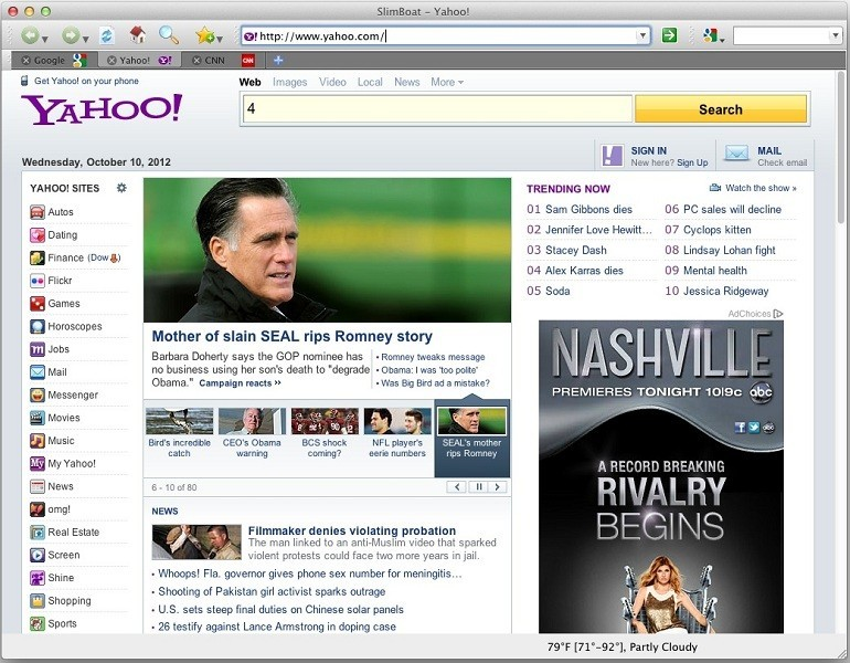 SlimBoat Web Browser for Mac