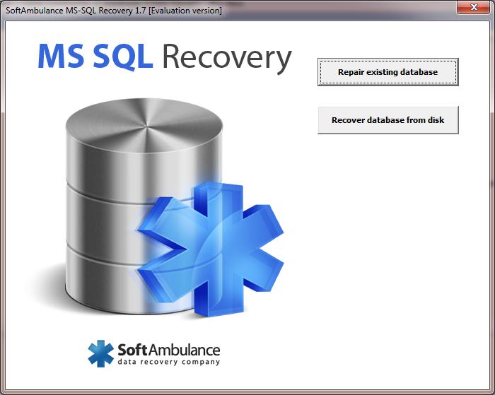 SoftAmbulance MS SQL Recovery