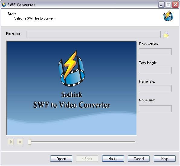 Sothink SWF to Video Converter