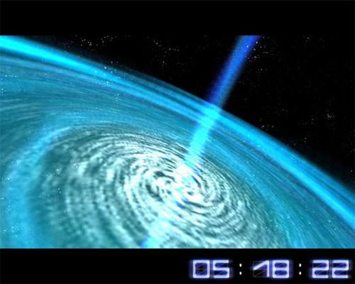 Space Flight 3D Screensaver