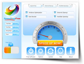 SpeedItup Free 2016 with PC Cleaner