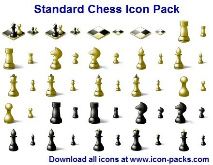 Standard Chess Icon Pack