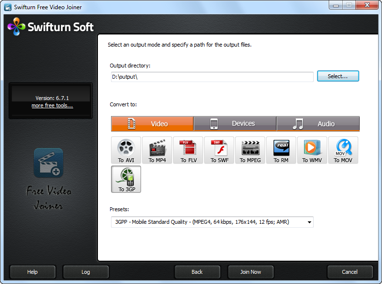 Swifturn Free Video Joiner