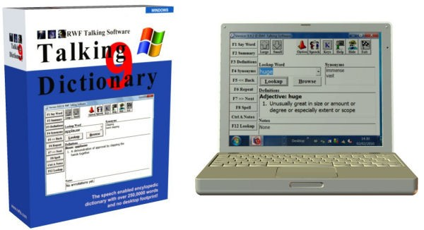 Talking Dictionary for the Blind