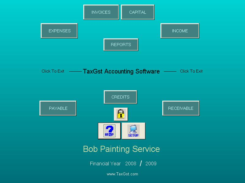 TaxGst Accounting Software