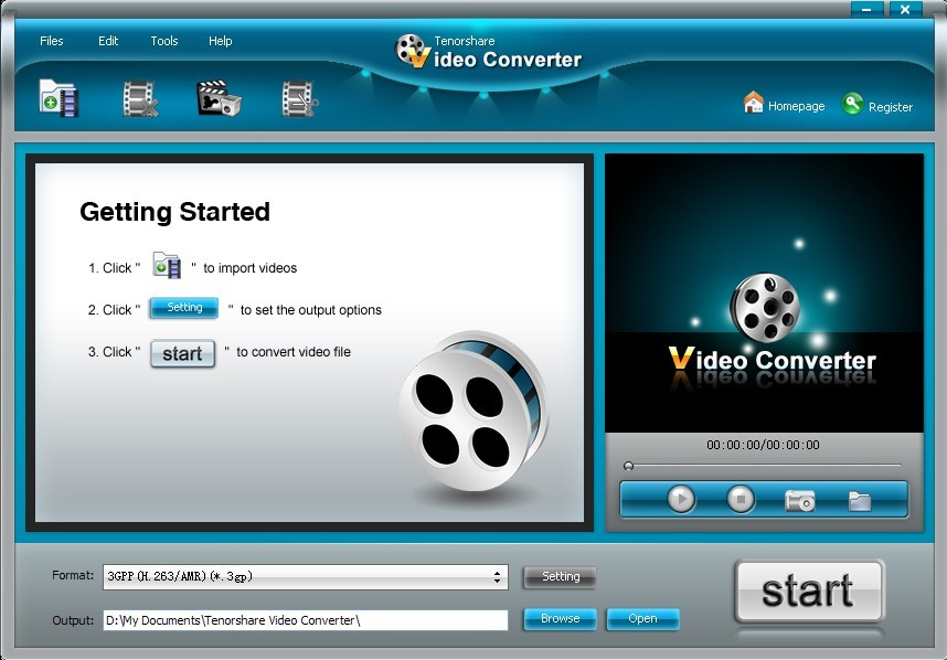 Tenorshare Video Converter Ultimate