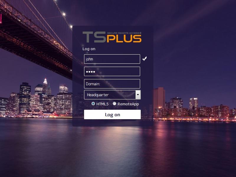 Terminal Service Plus