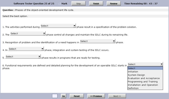 Test Generator Software Standard Edition