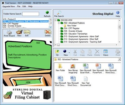 The Virtual Filing Cabinet