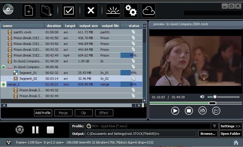 ThinkVD Video Converter Ultimate