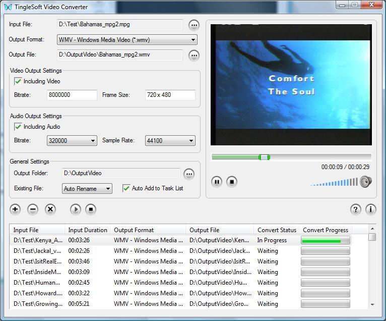 TingleSoft Mobile Video Converter
