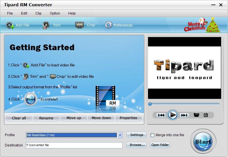 Tipard RM Converter