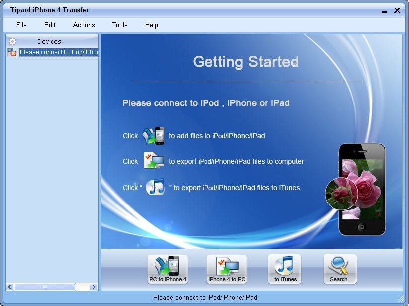 Tipard iPhone 4G Transfer