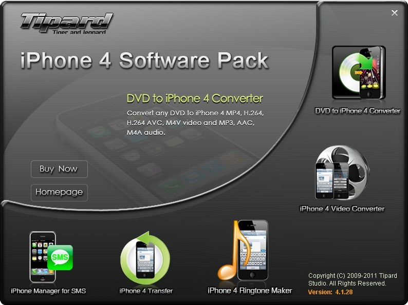 Tipard iPhone 4 Software Pack