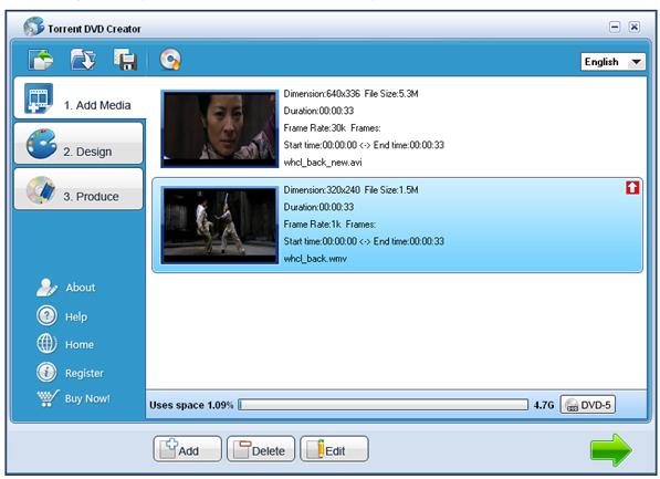 Torrent DVD Creator