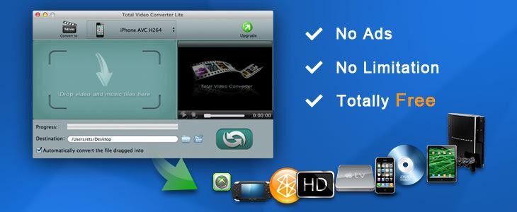 Total Video Converter Lite for Mac