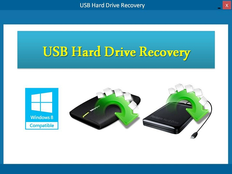 USB Hard Drive Recovery