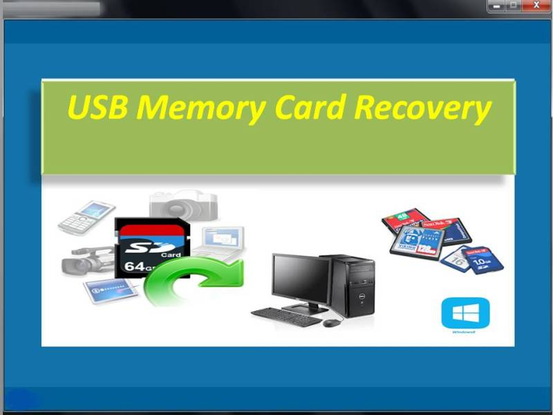 USB Memory Card Recovery
