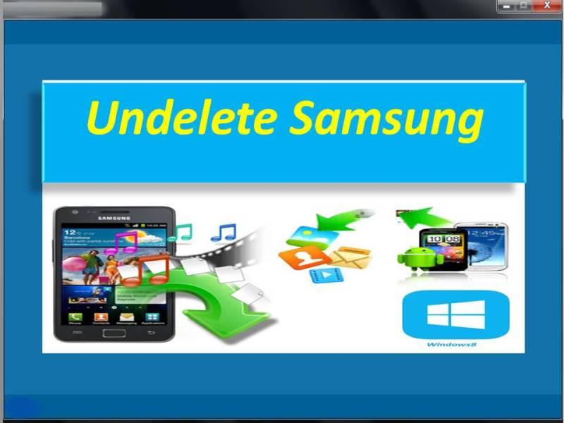 Undelete Samsung