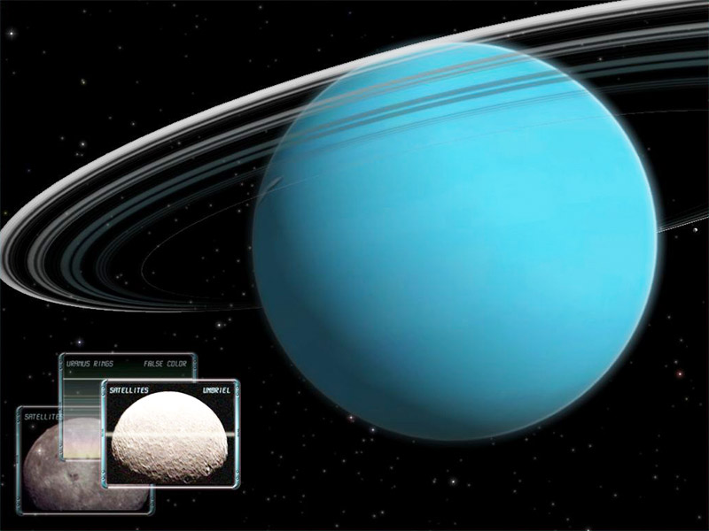 Uranus 3D Space Survey Screensaver for Mac OS X