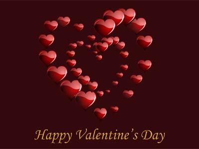 Valentines Hearts Screensaver