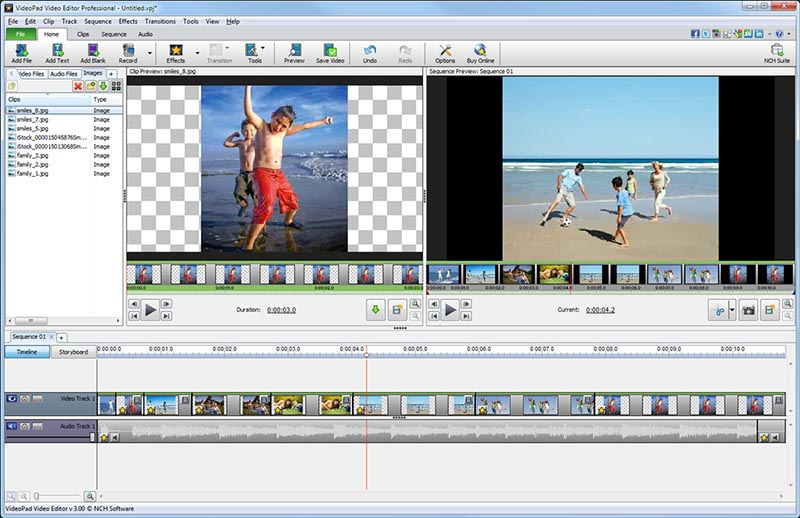 VideoPad Free Video Editing for Mac