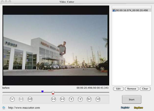 Video Cutter for Mac