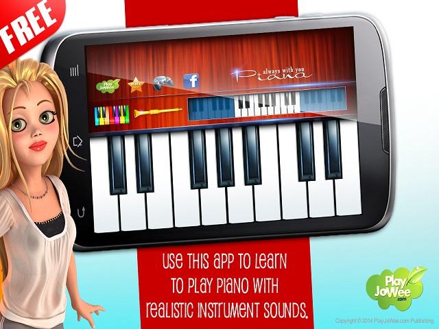 Virtual Piano Play Melody