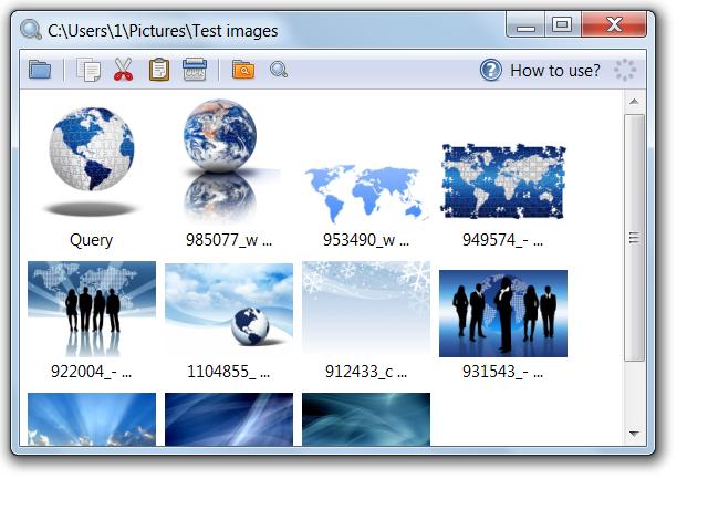 Visual Image Search