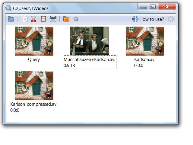 Visual Video Search