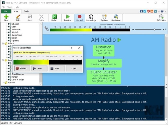 Voxal Voice Changer Software Free