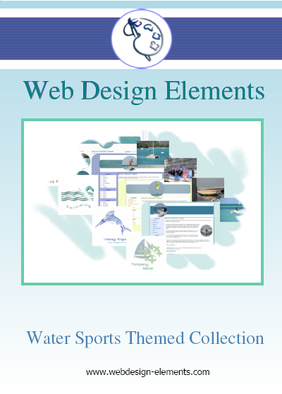 Water Sports Web Elements