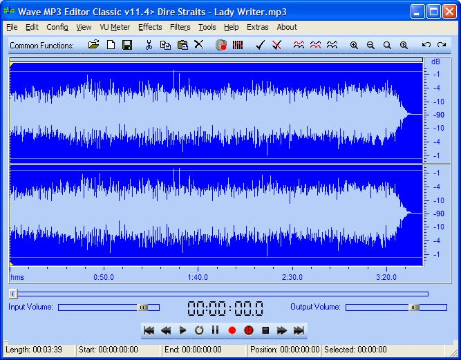 Wave MP3 Editor Classic