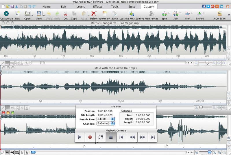 Wavepad Masters Edition for Mac
