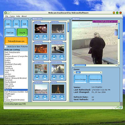 Webcam Dashboard