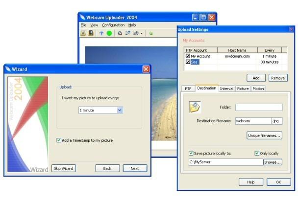 Webcam Uploader 2004