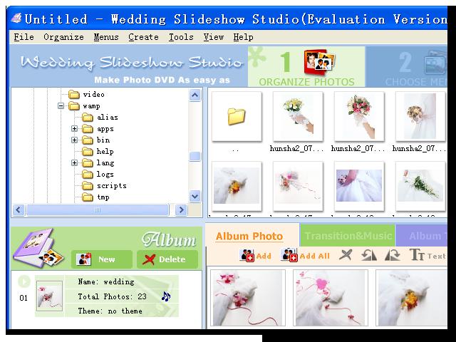 Wedding Slideshow Studio