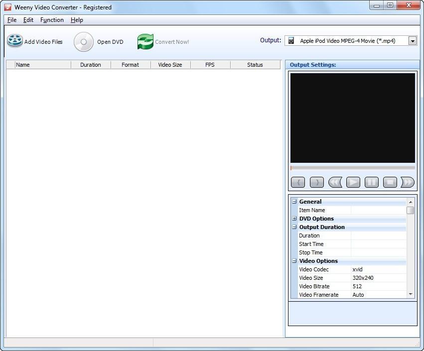 Weeny Free Video Converter