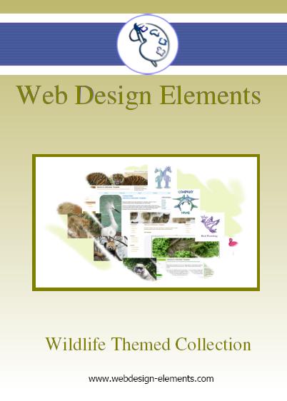 Wildlife Web Elements