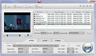 WinX PDA Video Converter