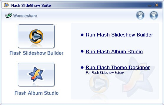 Wondershare Flash SlideShow Suite