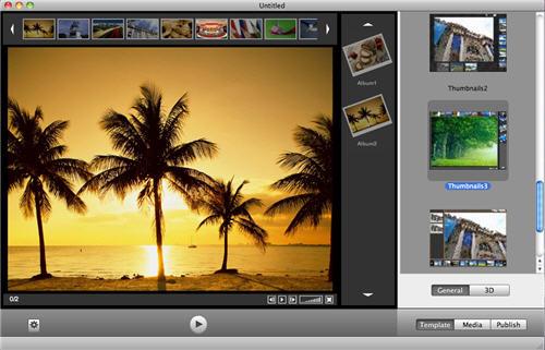Wondershare Web Gallery for Mac