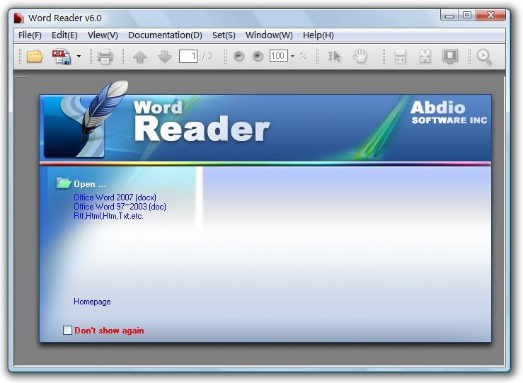 Word Reader