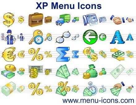 XP Menu Icons