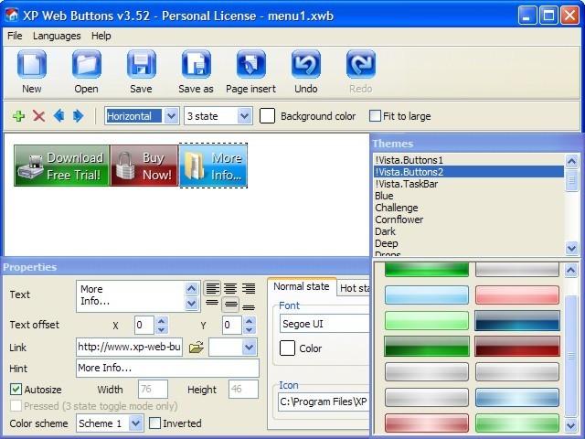 XP Web Buttons