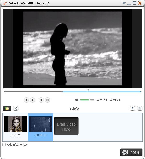 Xilisoft AVI MPEG Joiner for Mac