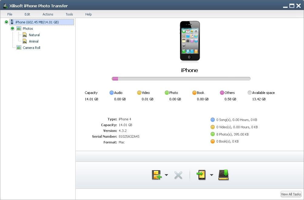 Xilisoft iPhone Photo Transfer
