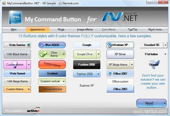 .NET My Command Button