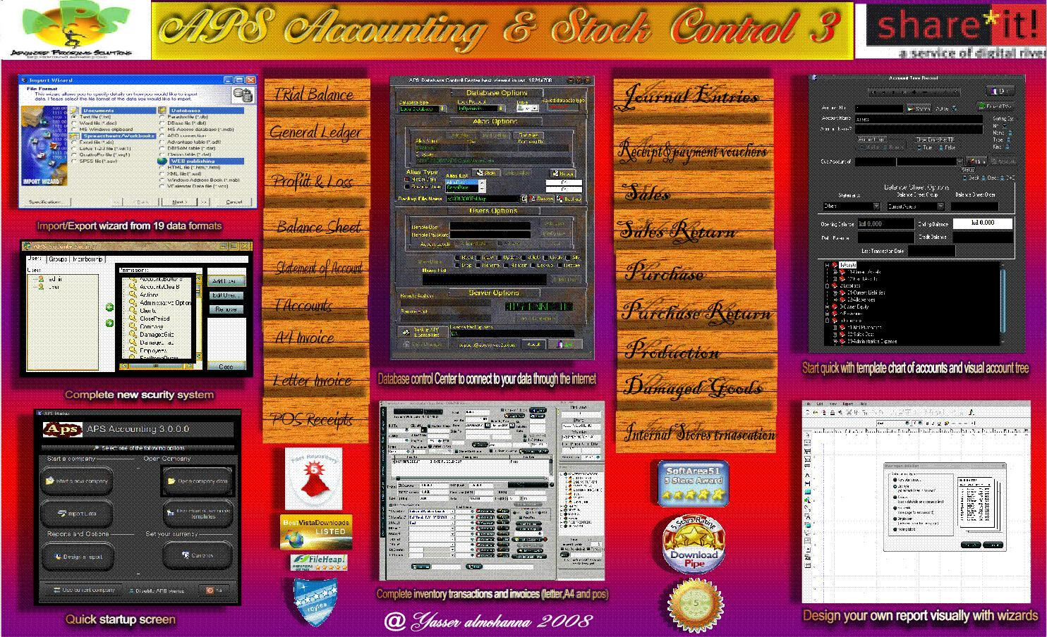 APS Accounting & Stock Control