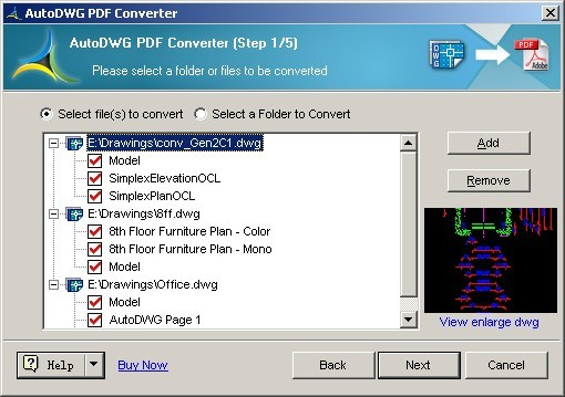 AutoDWG DWG to PDF Converter Pro 3.0